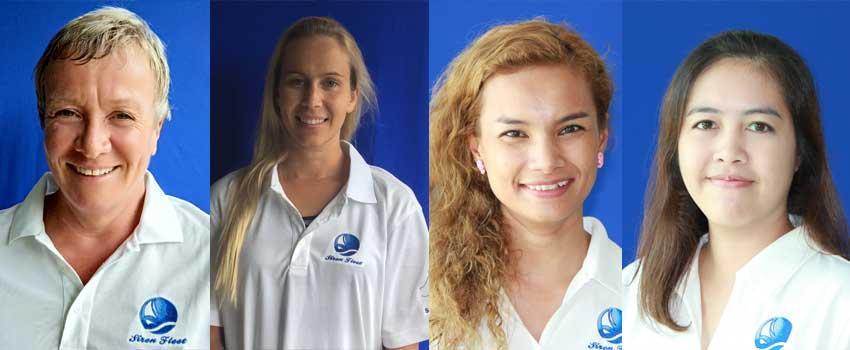 Phuket office women divers