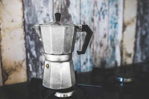 Traditional coffee machine