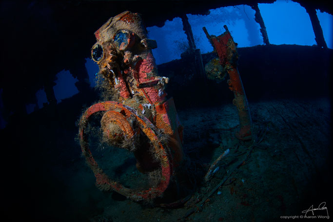 Wreck diving Truk Lagoon