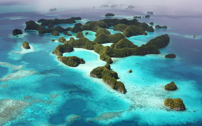 Rock Island of Palau.